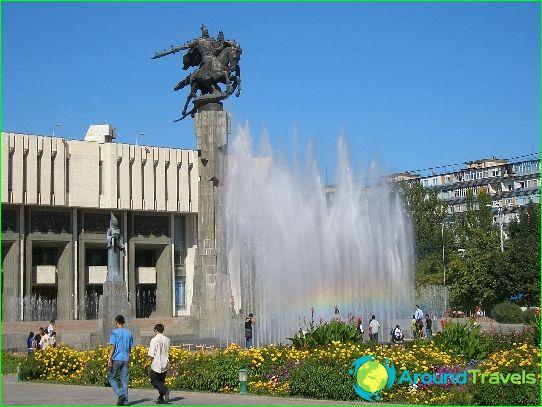 Bisjkek - huvudstaden i Kirgizistan