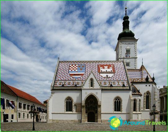 Zagreb is de hoofdstad van Kroatië