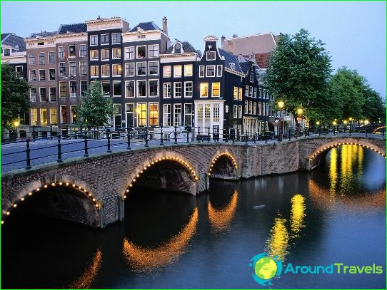 Amsterdam - de hoofdstad van Nederland