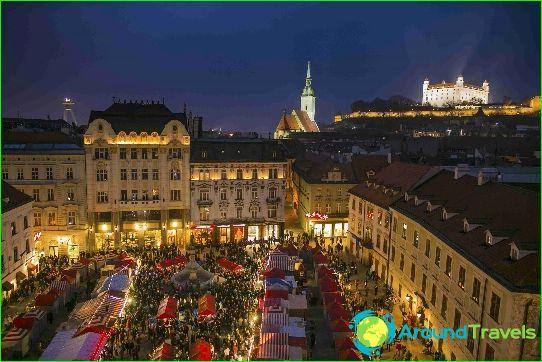 De hoofdstad van Slowakije is Bratislava