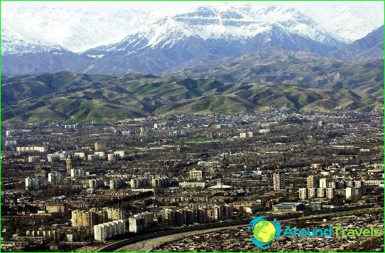 Dušanbe on Tadžikistanin pääkaupunki