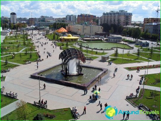 Vakantie in Tyumen