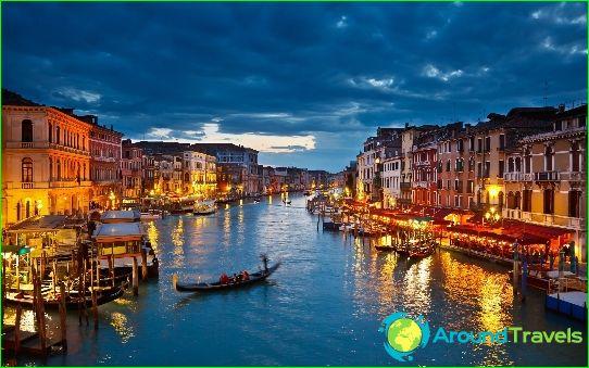 Tours naar Venetië