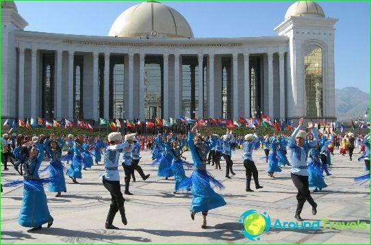 Vakantie in Turkmenistan
