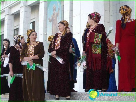 العطل في تركمانستان