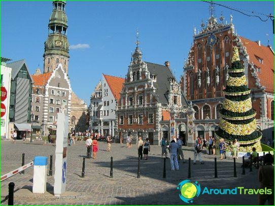 Tours naar Riga