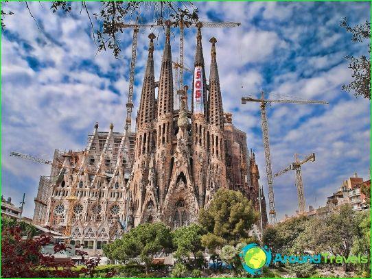 Tours naar Barcelona