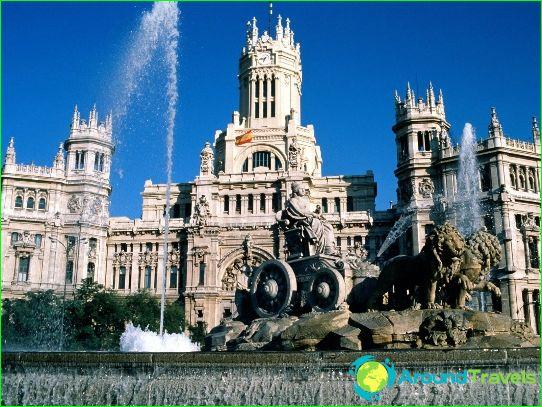 Обиколки в Мадрид