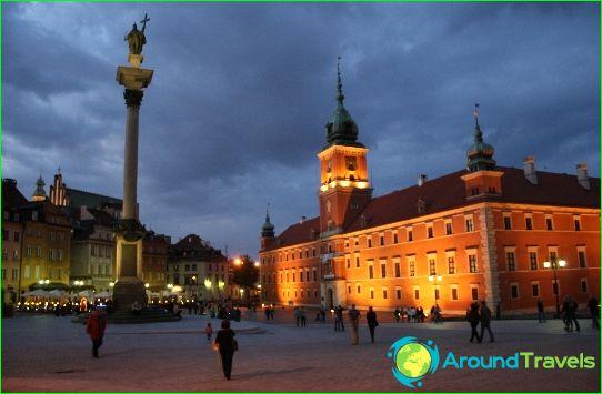 Retket Varsovaan