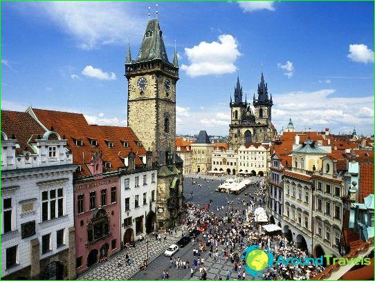 Turismi Tšekin tasavallassa