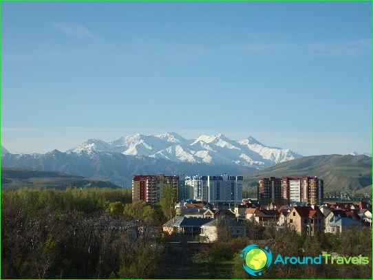 Vakantie in Bishkek