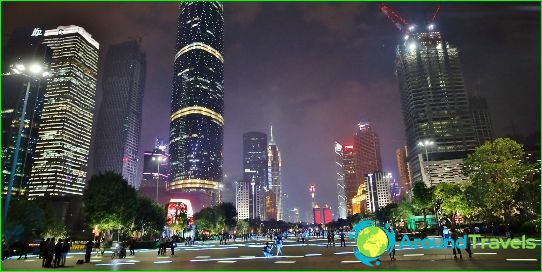 Vakantie in Guangzhou