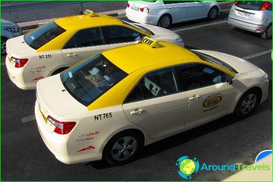 تاكسي في دبي
