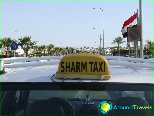 Taxi in Sharm El Sheikh
