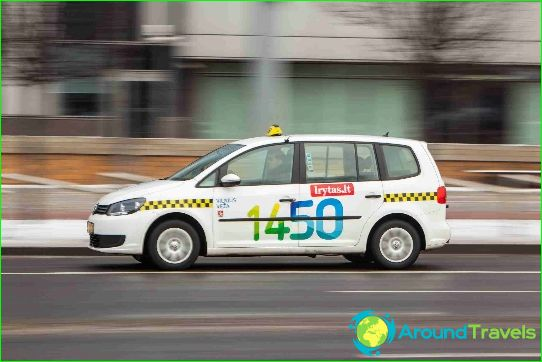 تاكسي في فيلنيوس