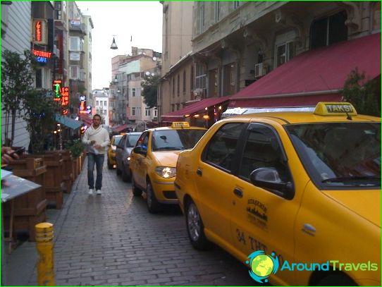 تاكسي في اسطنبول