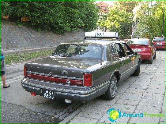 Такси във Варшава