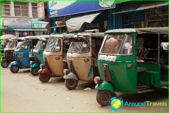 Такси в Коломбо