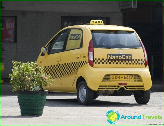 Taxi in Colombo