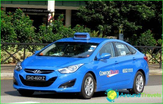 تاكسي في سنغافورة