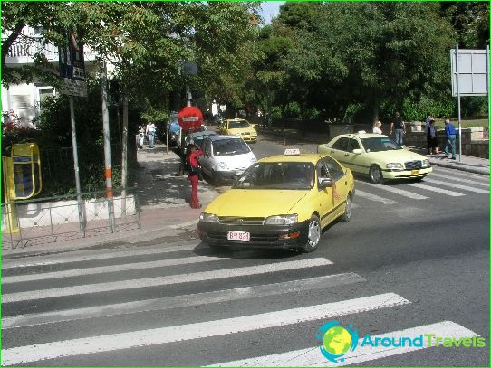 Taxi in Athene