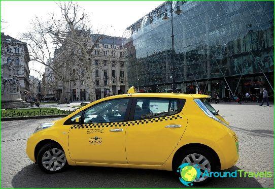 تاكسي في بودابست