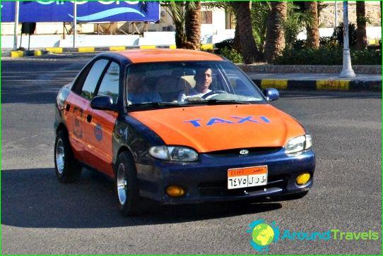 تاكسي في الغردقة