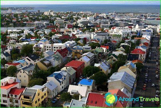 Retket Reykjavikissa