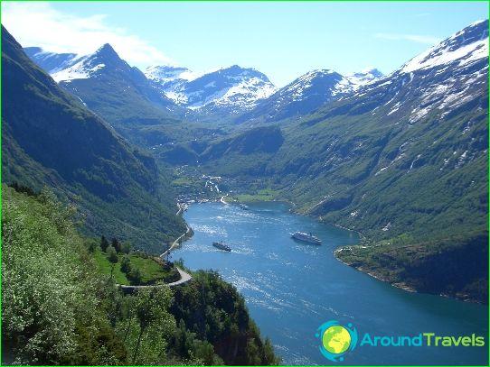 Vakantie in Noorwegen in juni