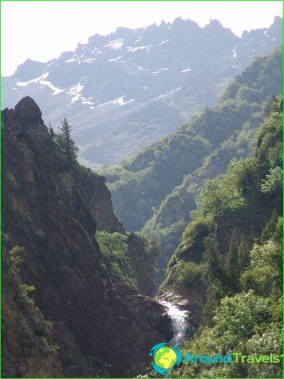 Kirgisian matkailu