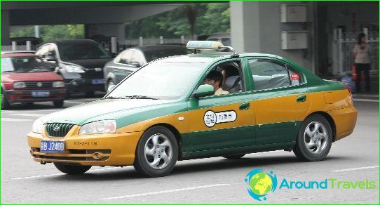 Taksi Pekingissä