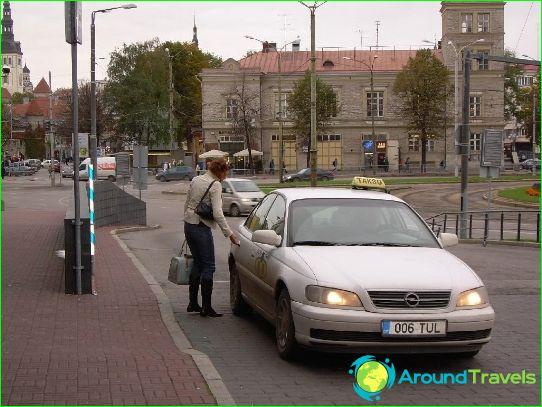 Такси в Нарва