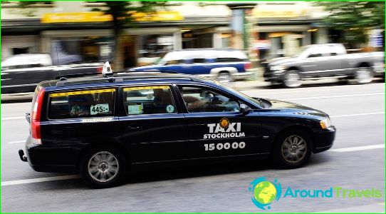 Taksi Tukholmassa