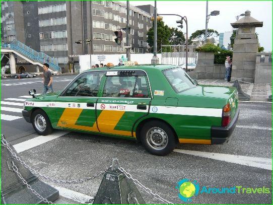 Taksi Tokiossa