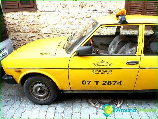 Taxi's in Antalya