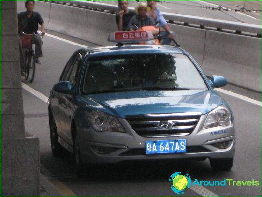 Taksi Guangzhoussa
