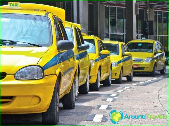 Taksi Rio de Janeirossa