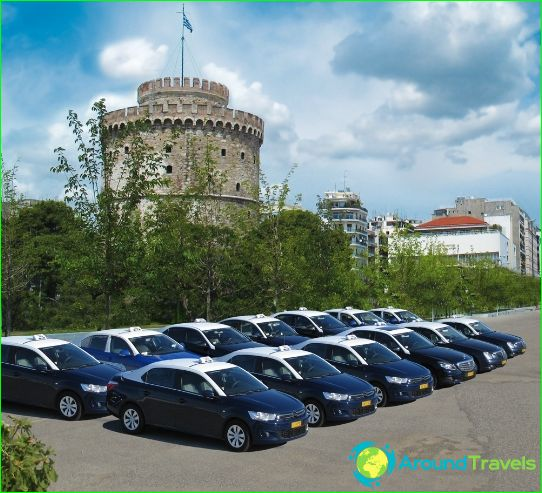 Taxi in Thessaloniki