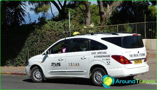Taksi Haifassa