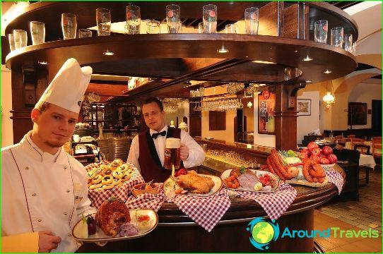 Meilleurs restaurants de Prague