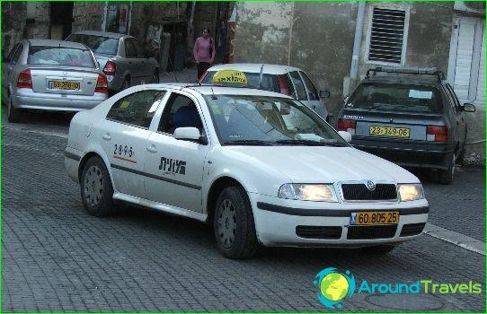 Taksi Eilatissa