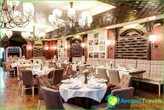 Parhaat ravintolat Kiovassa