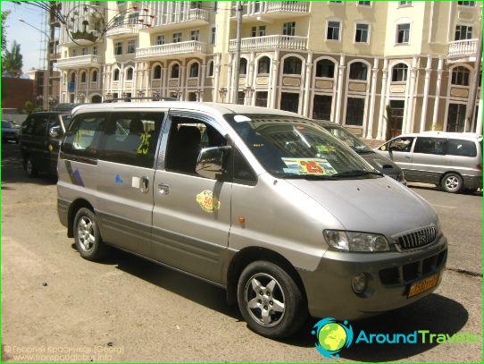 Taksi Dušanbessa