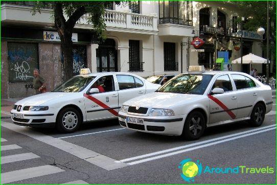 Taxi in Valencia