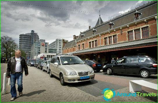 تاكسي في أمستردام