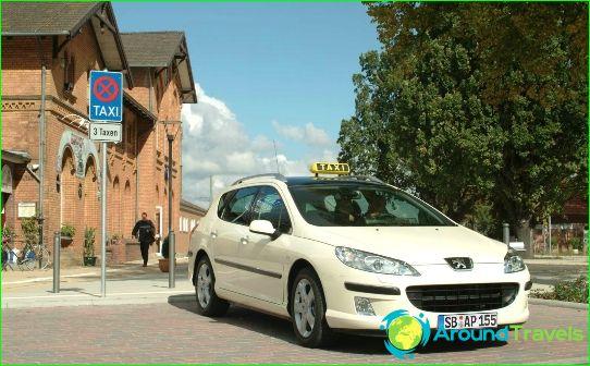Taxi in Keulen