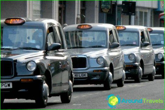 Taxi's in Edinburgh
