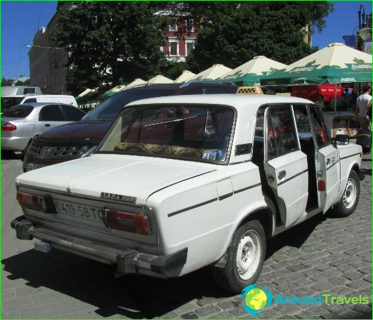Taxi in Lviv
