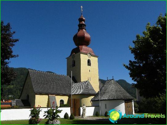 Kleine steden in Oostenrijk