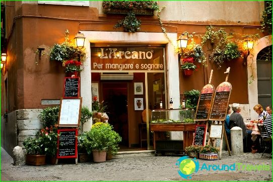 Beste restaurants in Rome